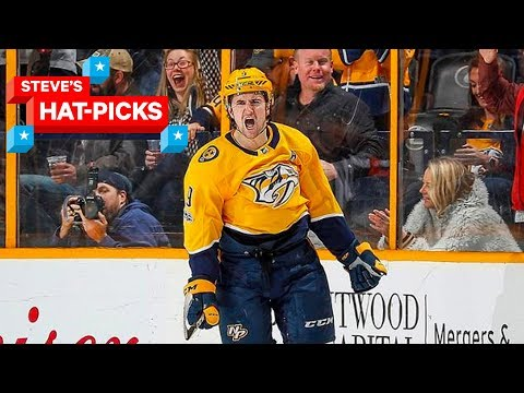 NHL Plays of The Week | Steve's Hat-Picks