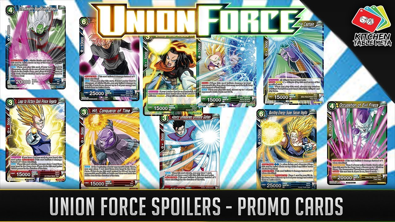 Dragon Ball Super CCG Set 2 Union Force ALL Leaders