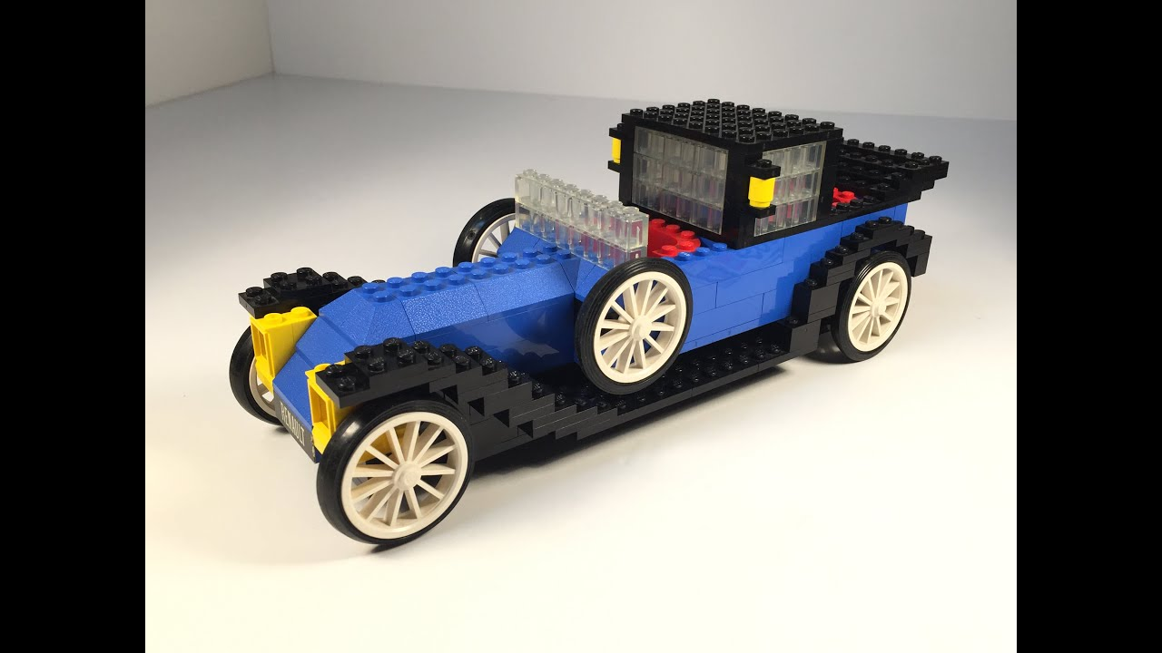 Lego 391 Hobby Set 1926 Renault Car From 1977 Vintage Review Youtube