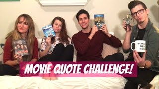 Movie Quote Challange! W/jacob And Julia