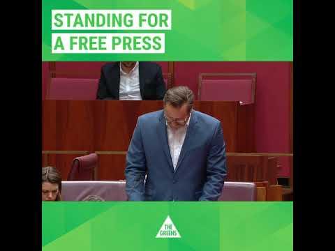 Greens motion on press freedom and the disappearance of Jamal Khashoggi
