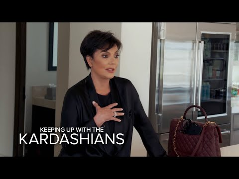 KUWTK | Kris & Kim Scramble to Get to Khloé...Who's in Labor! | E!