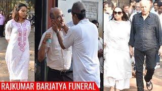 Rajkumar Barjatya FUNERAL Video