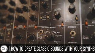 كيفية إنشاء الأصوات الكلاسيكية مع قشطه