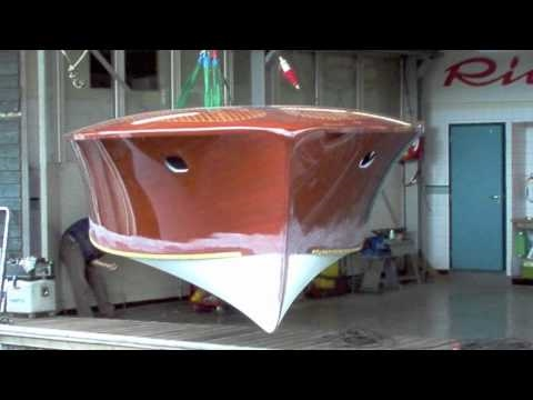 Restoration Riva Tritone hull number 110 ( for sale ) - Classic Boats Amsterdam