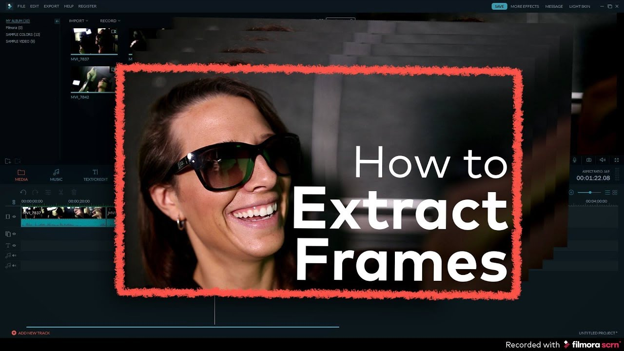 HOW TO EXTRACT HD FRAMES FROM VIDEO + MAKE STILL IMAGES! - YouTube