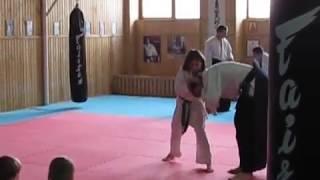 Айкидо , открытый урок для родителей