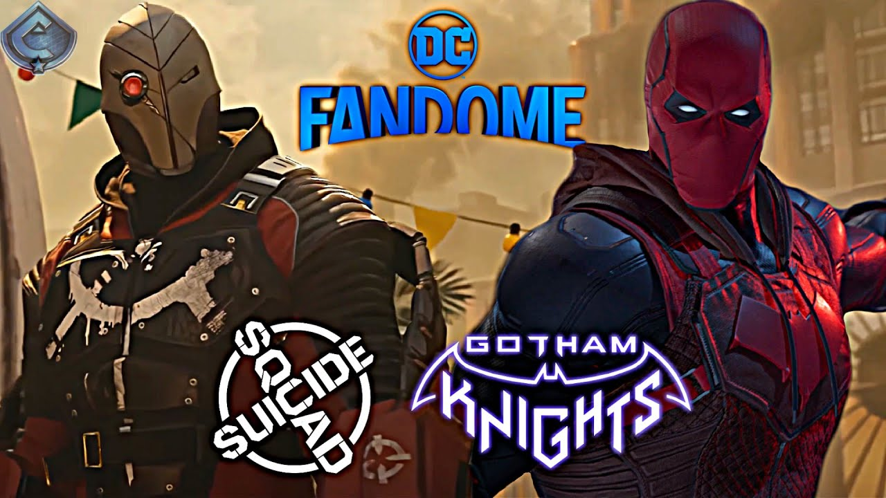 Gotham Knights and Suicide Squad Game News Coming Soon?! NEW DC FanDome Announced!