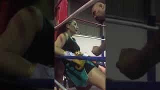 Женское «рубилово» и первой нокаут в профи «казахстанской GGG»