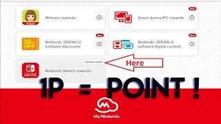 Nintendo Switch rewards 1p per coin/point.....my thoughts