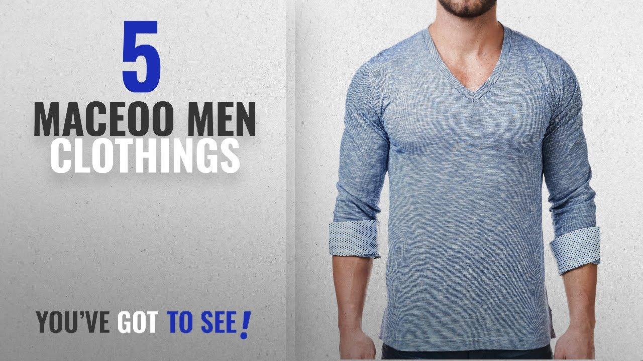 800c43933baa Top 10 Maceoo Men Clothings [ Winter 2018 ]: Mens Designer V Neck ...