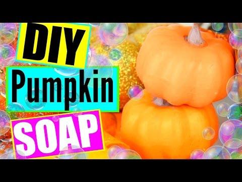 DIY Pumpkin Spice Soaps! Make Pumpkin Shaped Soaps!