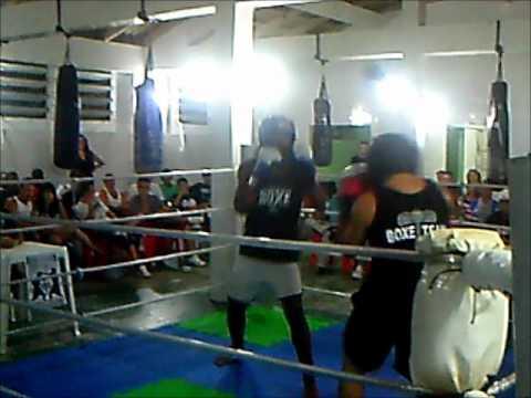 boxing fabio zunino 5 luta com a