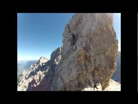 Jubiläumsgrat Zugspitze - Alpspitze