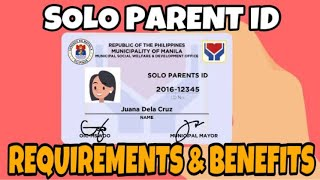 Id solo parent THOUGHTSKOTO