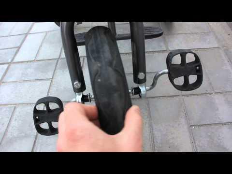 лексус трайк, проблемы с передним колесом