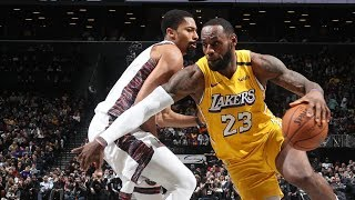 LeBron 91st Triple Double of Career vs Nets! 2019-20 NBA Season