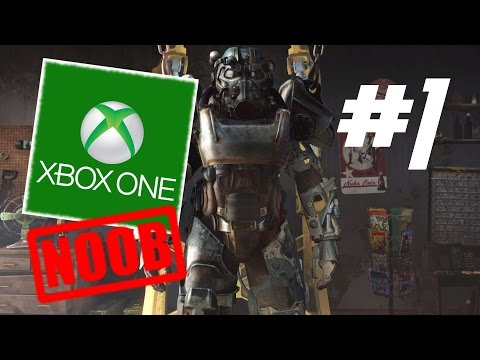 FALLOUT 4 (PC Gamer on an XBOX) #1 : A Console Noob Sets Forth