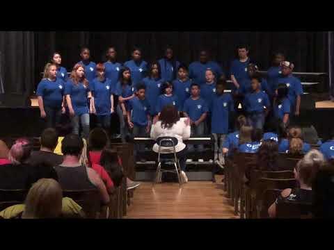 York Chester Middle School 2019 Spring       York Chester Middle School 2019 Concierto de primavera