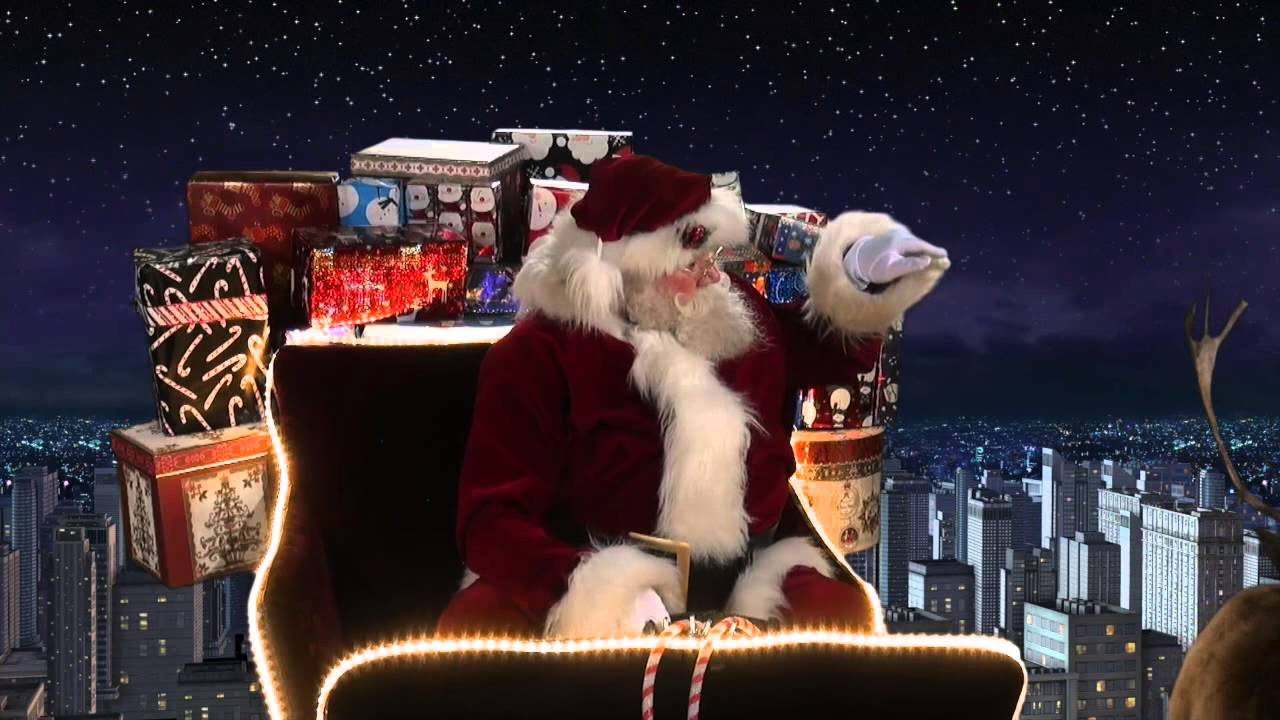 A Special Santa Snooper Video Christmas Eve Test Flight