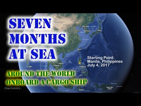 Around the World in Seven Months on a Merchant Marine Ship | Seaman Vlog 054