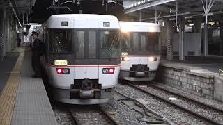 朝の珍事!10両の383系「試運転」列車が到着した長野駅。