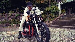Nostalgicbike.com (Documentary of Japanese Cafe Racer ) | CB750Fourカフェレーサー エピソード2