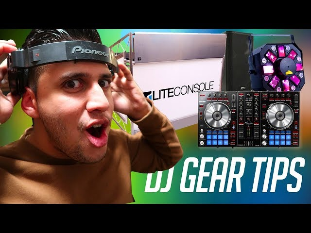 DJ Gear Tips: Lights,  Speakers, DJ Controllers, & DJ Booths (Lite Console Review) | DJ School