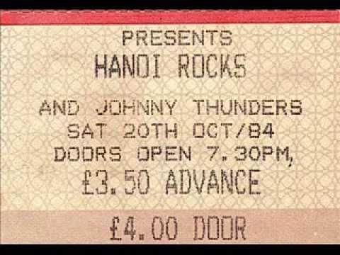 Hanoi Rocks - Live at Leeds University, 20th October 1984.