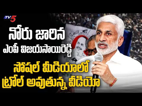 Trolls On YCP MP Vijayasai Reddy Speech | Social Media Trolls | TV5 News