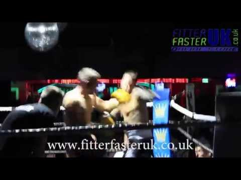 Dave Hyde VS Dazzy Sauldon- White Collar Boxing Highlights