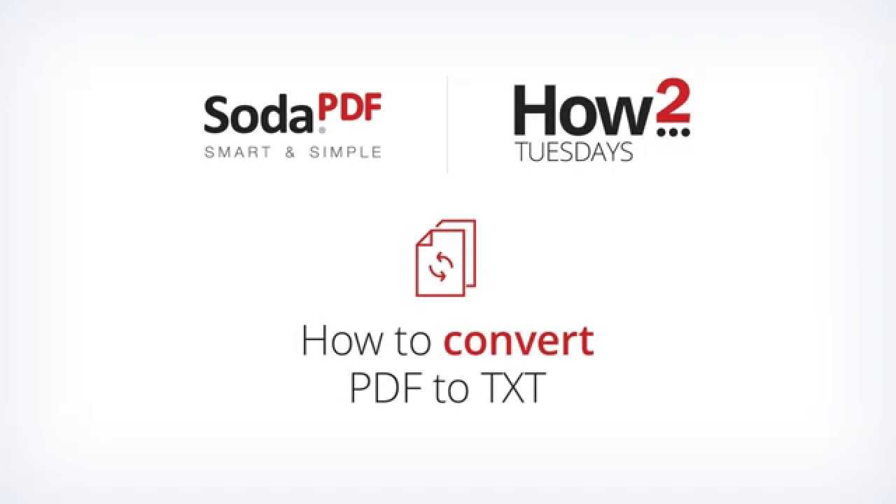 how to change pdf to txt