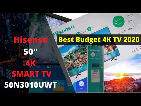 "Hisense 50"" 4K smart tv 50N3010UWT Full Review"