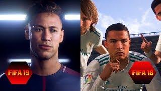 FIFA 19 vs FIFA 18 Graphics Comparison