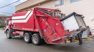 Mack MR - Leach 2RIII Commercial Rear Load Garbage Truck