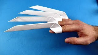 How to make Oriġami Paper Claws EASY (Stephen Ha)