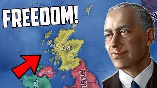 What if Scotland Was Independent?! HOI4