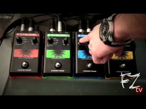 TC Helicon Voicetone Singles R1 / D1 / C1 / T1 Walkthrough - 12.6.2010