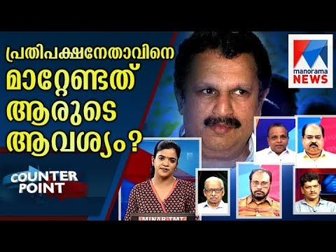 Counter Point on controversial remark of K Muraleedharan over opposition leader | Manorama News
