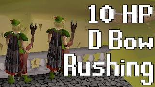 10 HP Dark Bow Twin Rushing Ft. Sir Pugger - Oldschool Runescape Pking