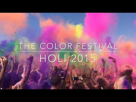 The Festival of Colors- Los Angeles 2015 VLOG