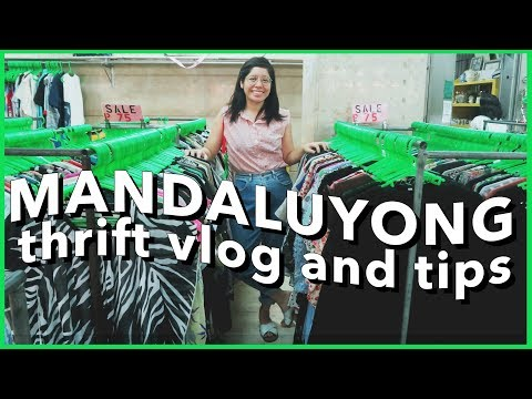 THRIFT WITH ME: MANDALUYONG UKAY-UKAY