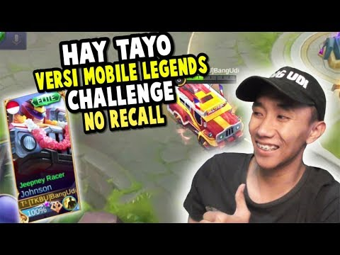 CHALLENGE GAK BOLEH RECALL PAKE SKIN TAYO!!!