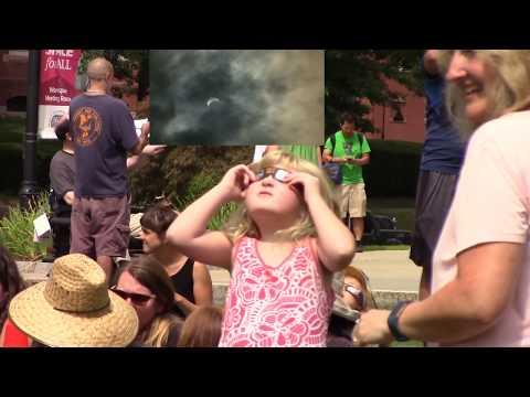 Eclipse 2017 in Northampton, Massachusetts