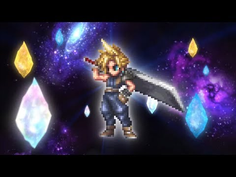 [Final Fantasy: Brave Exvius] Cloud Strife Pulls!!!