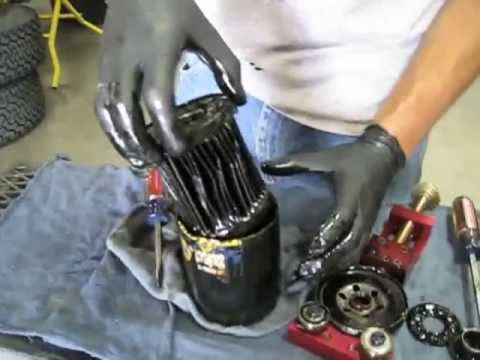 Cutting An Oil Filter With Proform S Universal Filter