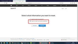 If you Forgot Apple ID Security Questions - Reset Security Questions