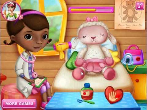 ✿ Доктор Плюшева Doc McStuffins Игрушки и Игры от Kids Diana Show