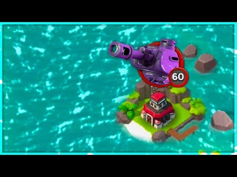 Boom Beach ATTACKING IMITATION GAME WITH ONLY ONE Boat of Tanks!