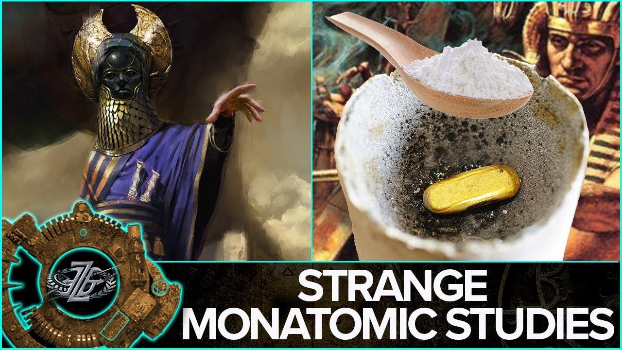 Monatomic Gold -  Secrets of the White Powder